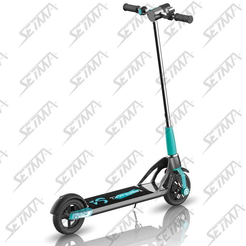 trottinette electrique bleue abs bluetooth chargeur usb setma. Black Bedroom Furniture Sets. Home Design Ideas