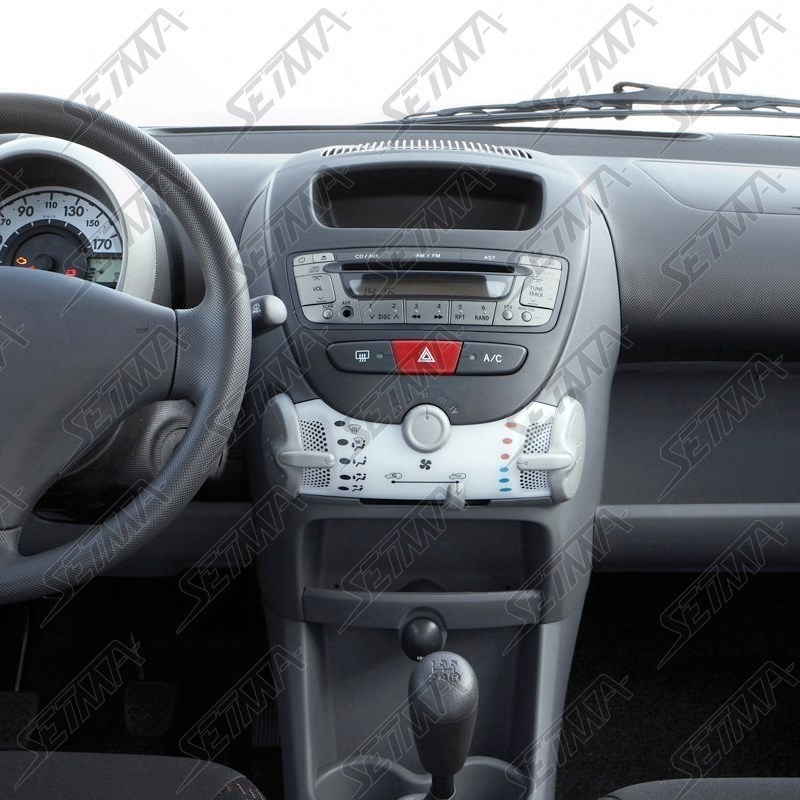 support autoradio 2 din citroen c1 p peugeot 107 p toyota aygo ab1 de 2005 a 2014. Black Bedroom Furniture Sets. Home Design Ideas