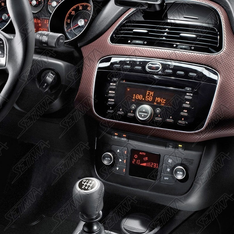 support autoradio 1 din fiat punto evo 199 2009 2011 punto depuis 2011 setma. Black Bedroom Furniture Sets. Home Design Ideas
