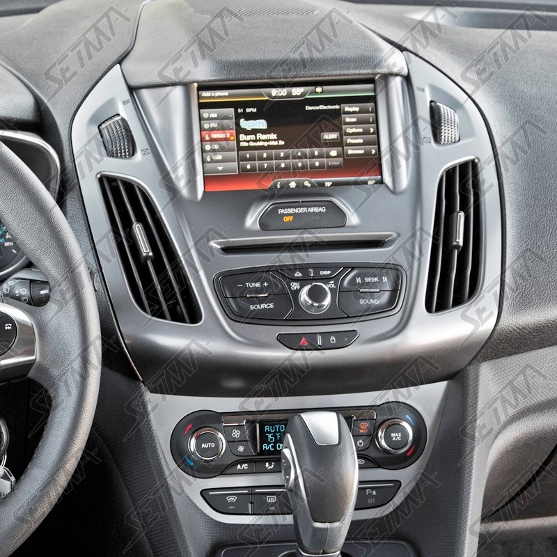 SUPPORT AUTORADIO 2 DIN - FORD - TRANSIT CONNECT DEPUIS ...
