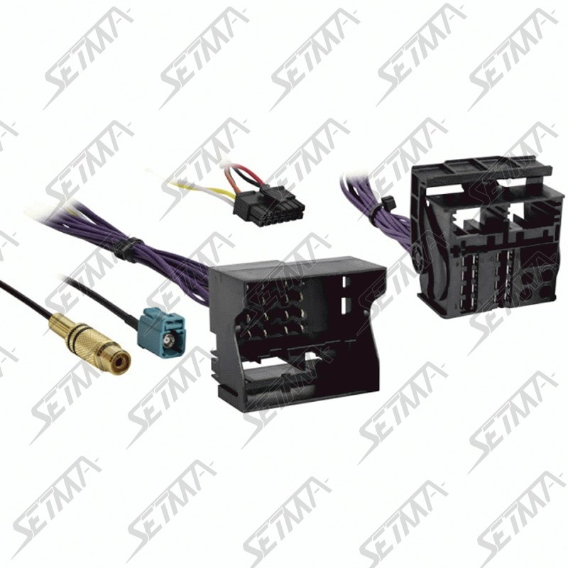 cable pour interface e09un00003 compatible mercedes depuis 2008 connecteur fakra setma. Black Bedroom Furniture Sets. Home Design Ideas