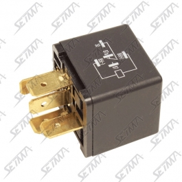 RELAIS DOUBLE 2RT - 24V - 20 AMP - 5 CONTACTS