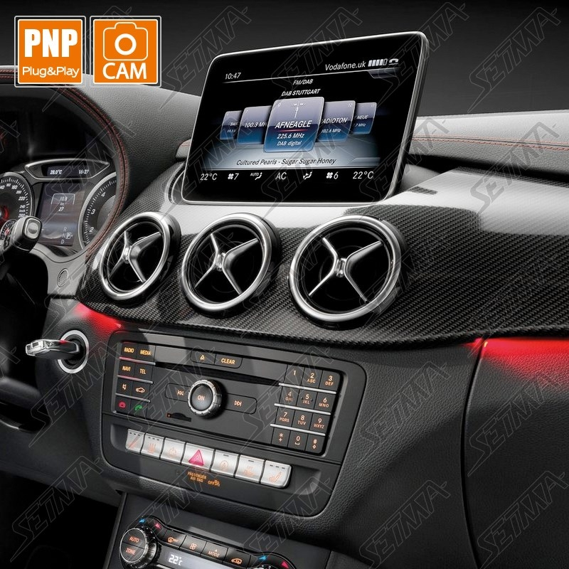 interface mercedes ntg   video entree camera