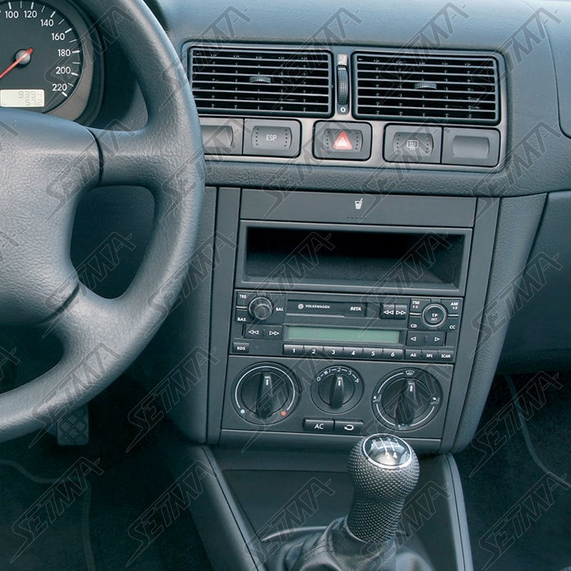 Wonderbaar SUPPORT AUTORADIO 2 DIN - VOLKSWAGEN - GOLF IV 1996-2002 / LUPO YL-94