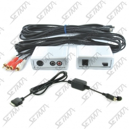 INTERFACE POUR IPOD / IPHONE  - BMW - SERIE 3 (E46) / 5 (E39) / 7 (E38) - MINI R50 /51 / 52 / 53 - PRE-CABLE DANS LE COFFRE
