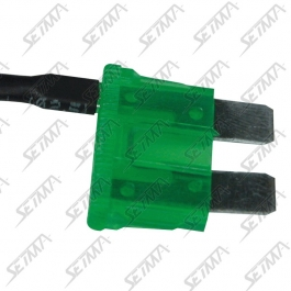 FUSIBLE ENFICHABLE CABLE - 30 A - CABLE 1 MM2