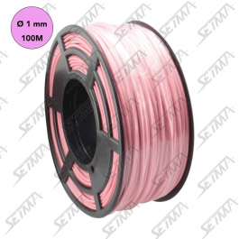 CABLE UNIPOLAIRE - ROSE - DIAMETRE 1.00 MM2 X 100 M