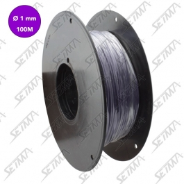 CABLE UNIPOLAIRE - VIOLET - DIAMETRE 1.00 MM2 X 100 M