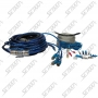 KIT CABLE AUDIO - DOUBLE BLINDAGE - 20MM - HP - FUSIBLE - RCA BLINDE