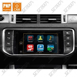 INTERFACE LAND ROVER/JAGUAR DEPUIS 2017 - SYSTEME INCONTROL TOUCH - ECRAN 8 POUCES - VIDEO + ENTREE CAMERA DE RECUL
