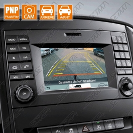 INTERFACE MERCEDES - VITO (W447) - AUDIO 15 - ENTREE CAMERA AVANT/ARRIERE