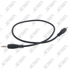 CABLE JACK/JACK  3.5MM -  STEREO - 30 CM